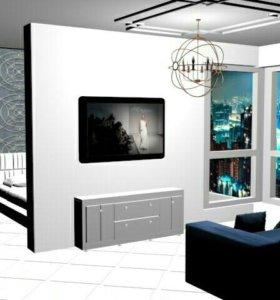 Технический дизайн-проект квартир, домов