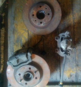 Супорта, тормозные диски ваз 10-12