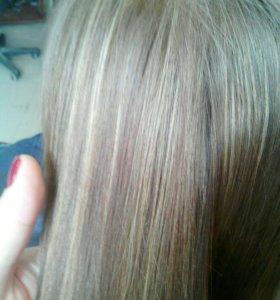 Меллирование волос,шатуш