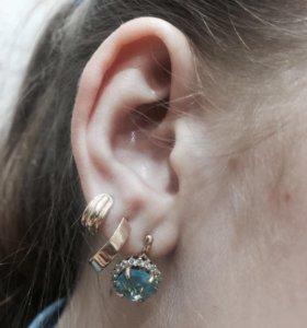 Пирсинг (большенство уши)