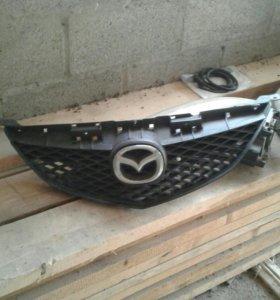 Решетка радиатора мазда 6