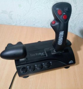 Джойстик Black Widow SL-6640-SBK