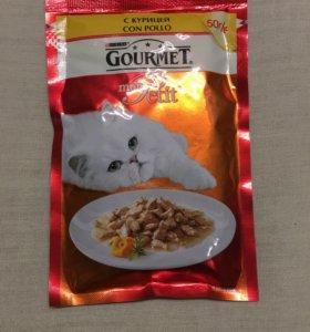 Корм для кошек purina gourmet