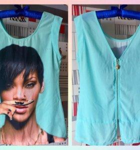 Блуза-футболка S/M