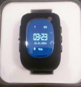 Детские умные часы с GPS трекером q 50