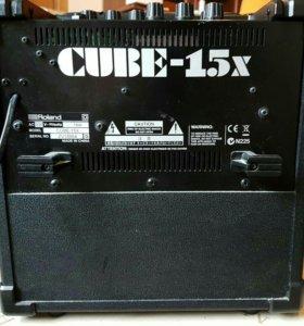 Комбо-усилитель roland cube-15x