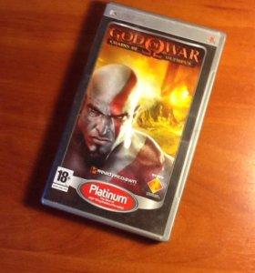 PSP игра God of War:CHAINS OF OLYMPUS (бог войны)