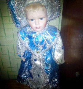 кукла снегурка фарфоровая