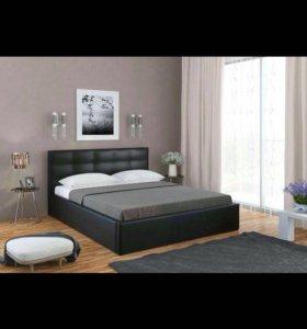 Двуспальная кровать 160*200 с подъёмным механизмом