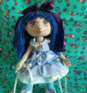 Текстильная кукла ручная работа handmade