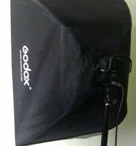 Студийный свет Godox softbox