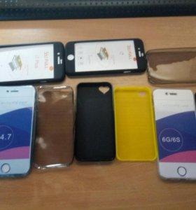 Чехлы на все айфоны 4,4s,5,5s,se,6,6s,7,7+