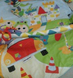 Развивающий коврик Yoo-kid-oo