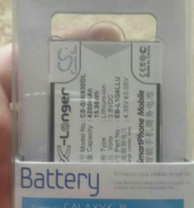 Батарейка на SAMSUNG S3