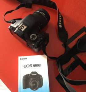 Фотоаппарат eos600d