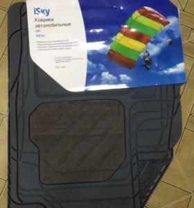Комплект новых ковриков для автомобиля Форд