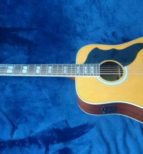 Акустическая гитара 12 струн