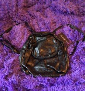 Рюкзак (сделанный под кожу)