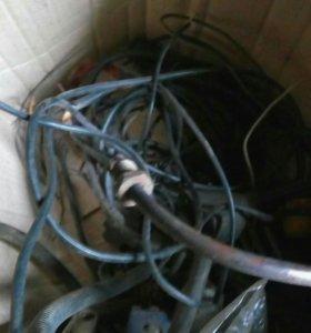 Газ оборудование 4пок полный комплект, балон 50л