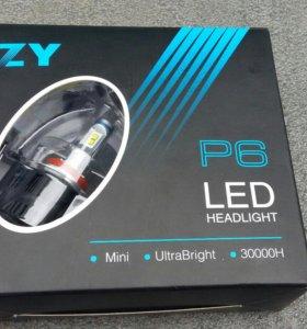 LED лампа P6-55W H11