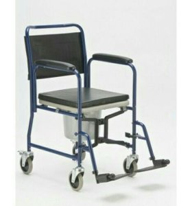 Туалетный стул на колесах. Новый