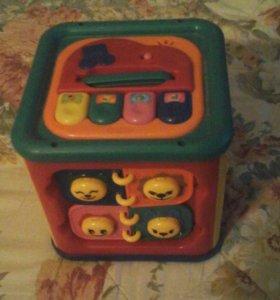 Электронный кубик для детей