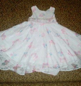 Платье легкое + подарок (сандали)