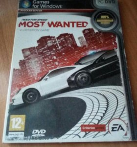 Диск Need for speed most wanted
