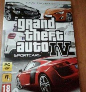 Диск GTA 4 Sport Cars