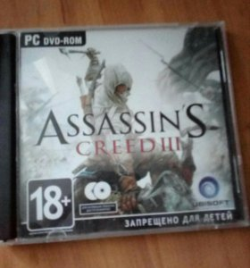 Диск Assassin`s creed lll