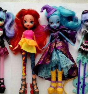 Пони и куклы Эквестрия