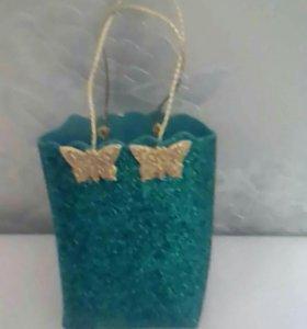 Подарочная сумочка