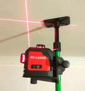 Лазерный уровень нивелир 3-360
