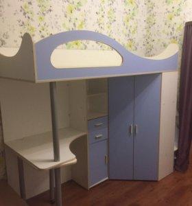 Кровать чердак бамбини suite16