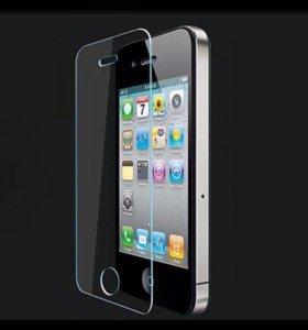 Защитное стекло на айфон 5 ,5s