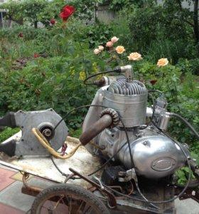 Двигатель мотороллера Турист