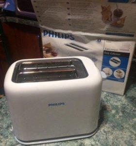 Тостер Philips новый
