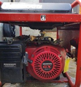 Электрогенератор бензиновый б/у, бу