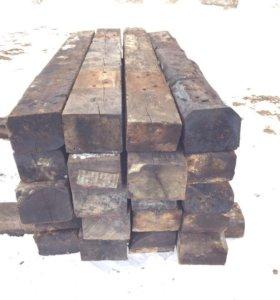 БУ шпала оптом деревянные