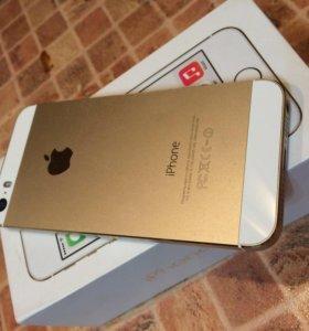 iPhone 5s 32 gb gold продажа срочная...