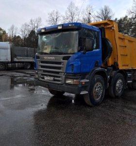 Самосвал Scania 20 м3