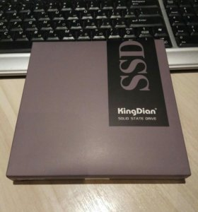 ssd 120 ГБ Kingdian s400, новый