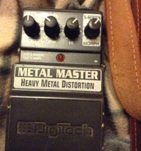 Гитарная педаль Digitech Metal Master