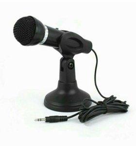 Микрофон настольный. Новый.