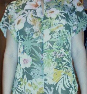 Летняя жен блуза новая!!