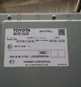 Штатная магнитола tayota Camry v50