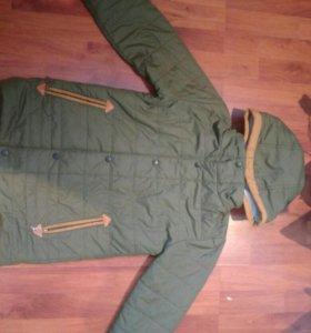 Демисезонная куртка на мальчика 11 лет