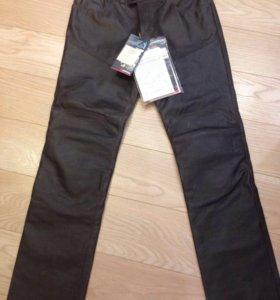 Кожаные брюки P. TROPHY vintage Pelle Dainese, р52