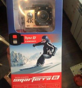 Экшеном камера smarttera w6