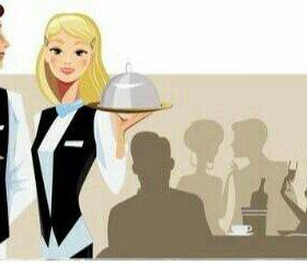 Требуются официанты!